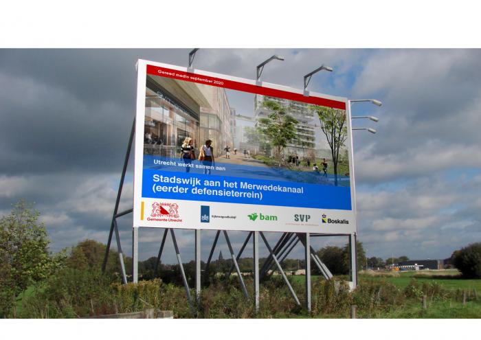 Utrecht Corporate Design – Plakatwand, Quelle: Gemeente Utrecht