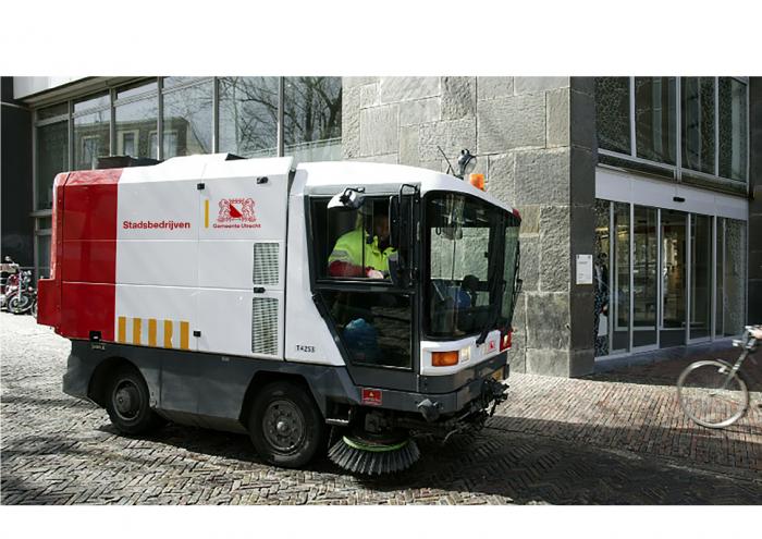 Utrecht Corporate Design – städische Reinigung, Quelle: Gemeente Utrecht