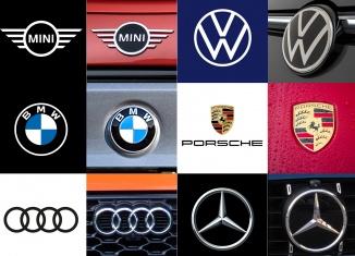 Automobil Logos / Markenzeichen