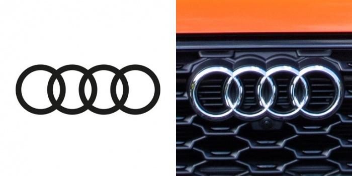 Logo/ Markenzeichen Audi, Quelle: Audi