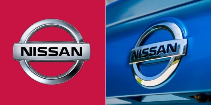 Logo/ Markenzeichen Nissan