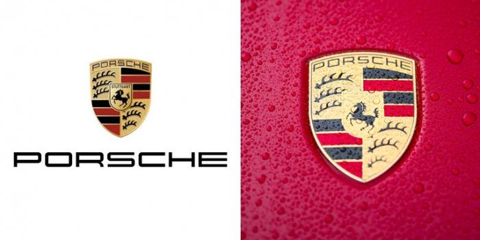 Logo/ Markenzeichen Porsche, Quelle: Porsche