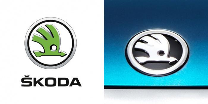 Logo/ Markenzeichen Skoda, Quelle: Skoda