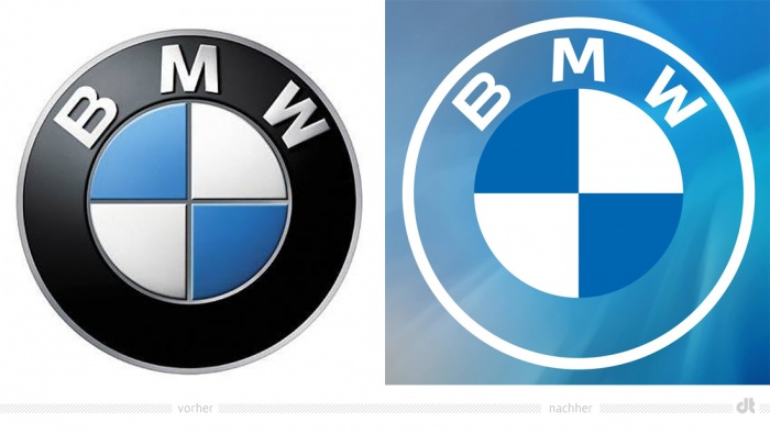 BMW App-Symbol – vorher und nachher
