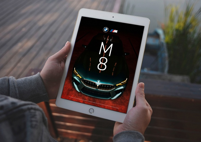 BMW neues Markendesign – Visual digital, Quelle: BMW