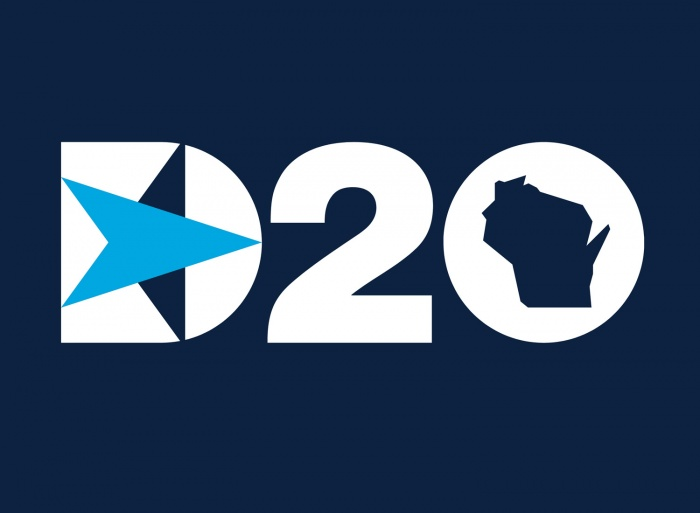 DNC 2020 Logo, Quelle: https://d20.demconvention.com/