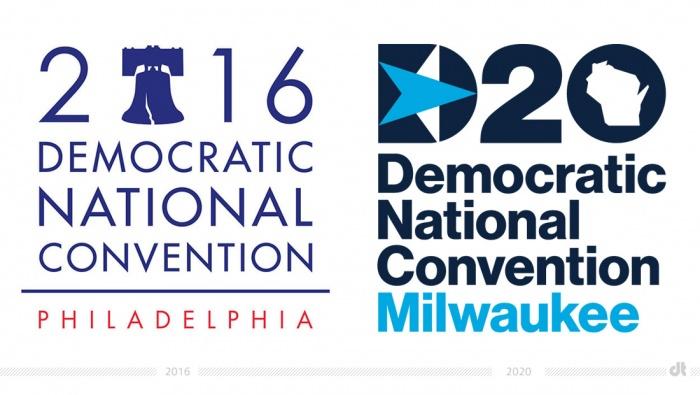 DNC Logo – 2016 und 2020