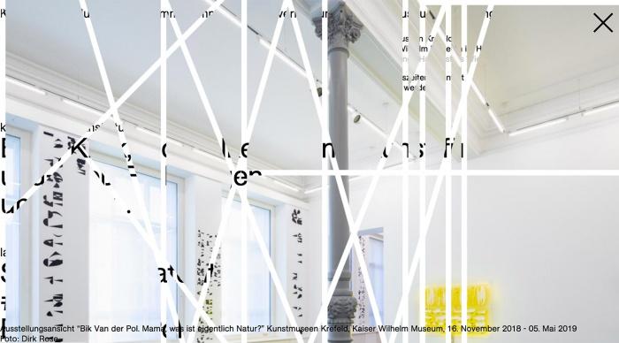 Kunstmuseen Krefeld – Website