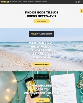 NETTO (Handelskette) Website (dk)