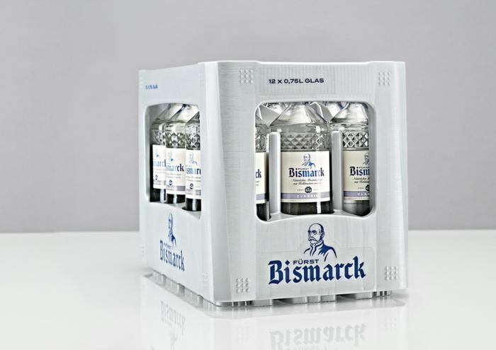 Fürst Bismarck Kasten, Quelle: Hansa Mineralbrunnen