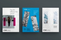 HTWK Corporate Design – Poster, Quelle: Wenke & Rottke