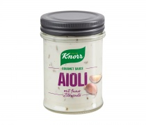 Knorr Gourmet Sauce Aioli, Quelle: Unilever