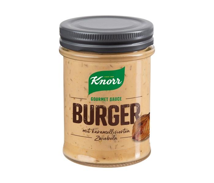 Knorr Gourmet Sauce Burger, Quelle: Unilever