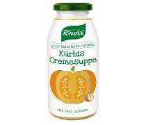 Knorr Kürbis Cremesuppe Glas, Quelle: Unilever