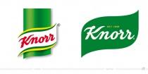 Knorr Logo – vorher und nachher