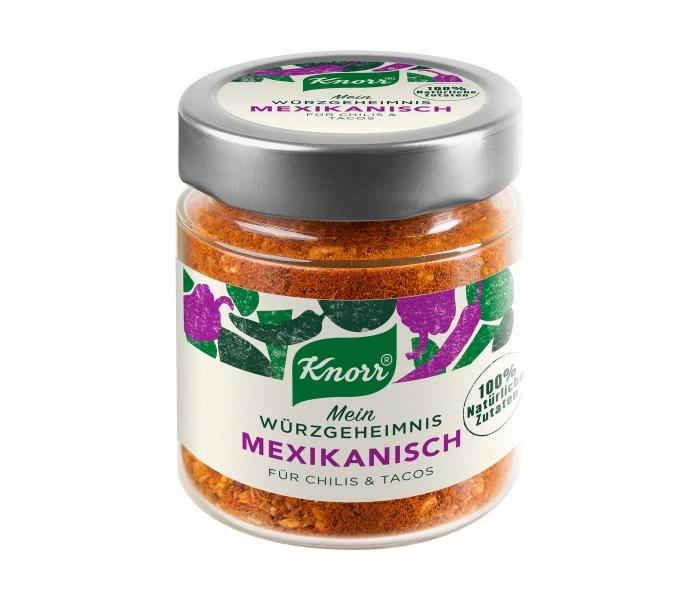 Knorr Mein Gewürzgeheimnis Mexikanisch, Quelle: Unilever