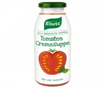 Knorr Tomaten Cremesuppe Glas, Quelle: Unilever