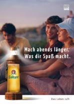 Lübzer Bier – Anzeige, Quelle: Carlsberg Deutschland