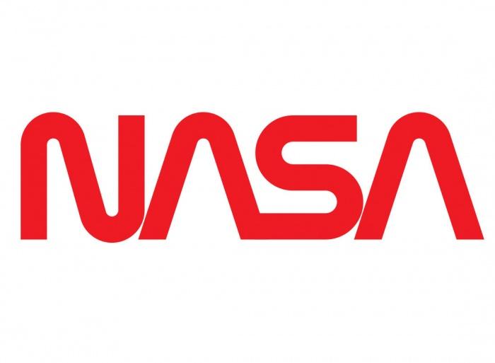 """NASA Logo (""""Wurm""""), Quelle: NASA"""