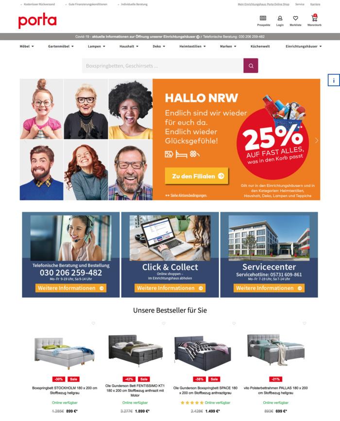 porta Website