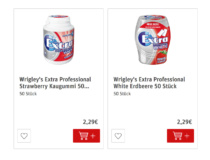 Wrigley's Extra Professional im REWE Shop