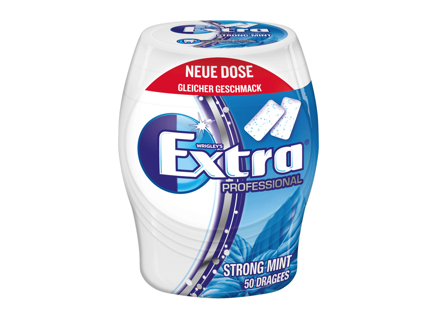 Wrigley's Extra Professional Strong Mint (2020), Quelle: REWE