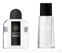 Axe Aftershave Moschus – vorher und nachher, Foto: Unilever, Fotomontage: dt