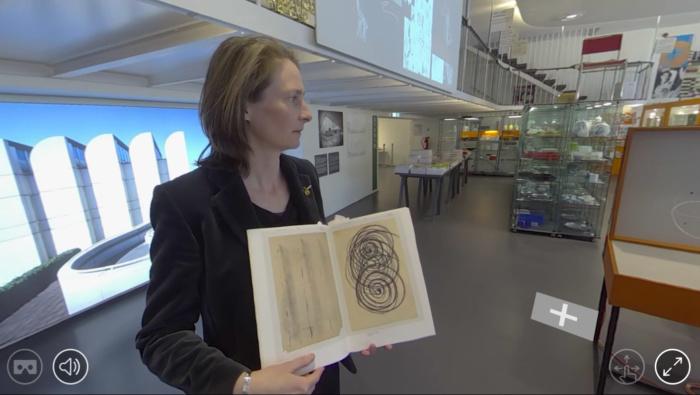 Virtuelle Tour durchs Bauhaus-Archiv