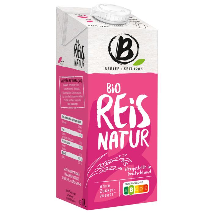 Berief Bio Reis Natur, Quelle: Rewe/Berief Food GmbH