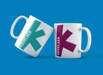 Kevelaer Fan-Logo auf Tassen, Quelle: Stadtverwaltung Kevelaer