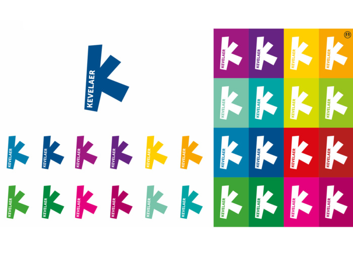 Kevelaer Fan-Logo in versch. Farben, Quelle: Stadtverwaltung Kevelaer
