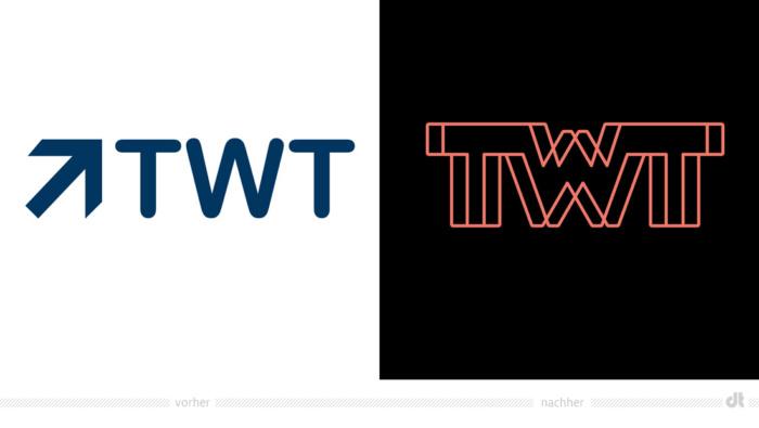 TWT Logo – vorher und nachher