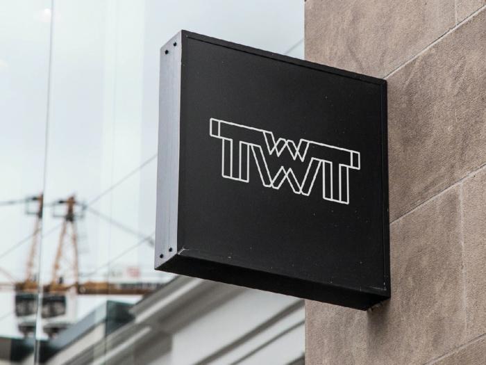 TWT Schild, Quelle: TWT