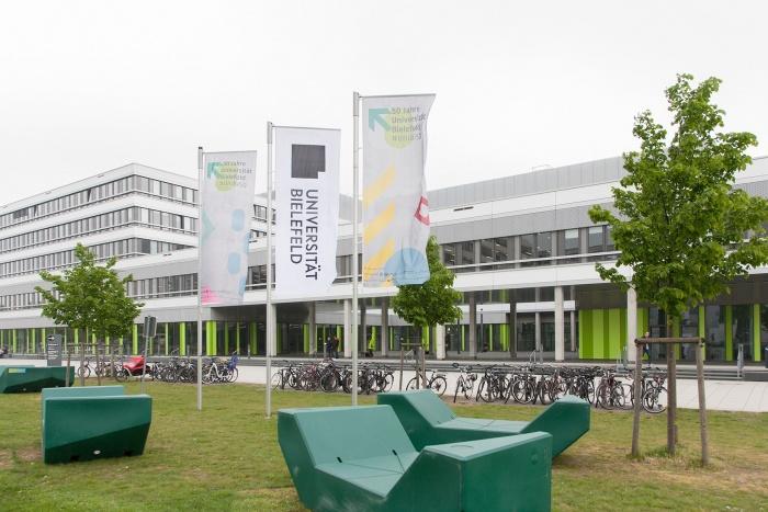 Uni Bielefeld – Campus, Quelle: Uni Bielefeld