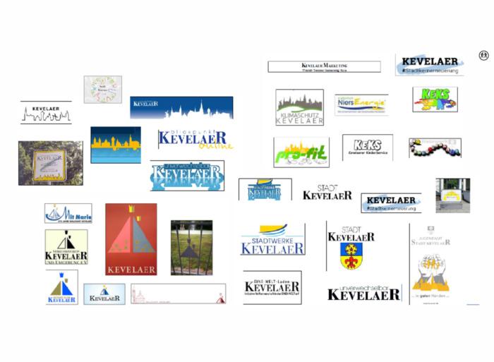 Wallfahrtsstadt Kevelaer-Redesign – bisheriger Einsatz Logo, Quelle: Stadtverwaltung Kevelaer
