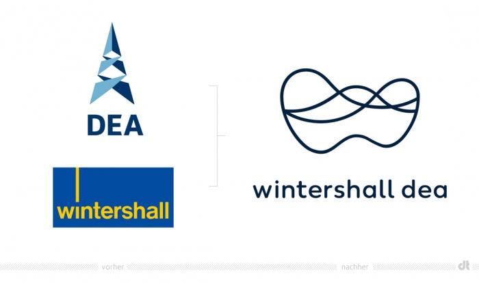 Wintershall Dea Logo – vorher und nachher