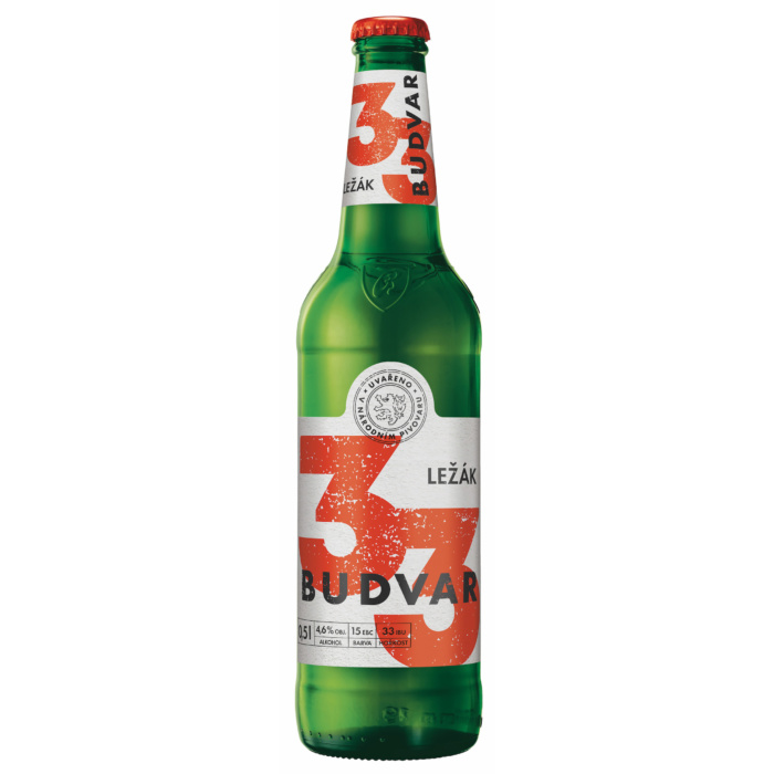 Budvar 33, Quelle: Budweiser Budvar