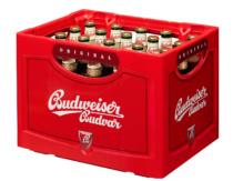 Budweiser Lager Kiste, Quelle: Budweiser Budvar