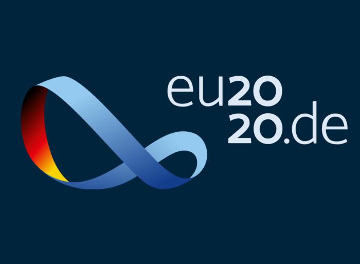 Logo zur EU-Ratspräsidentschaft Deutschlands 2020, Quelle: eu2020.de