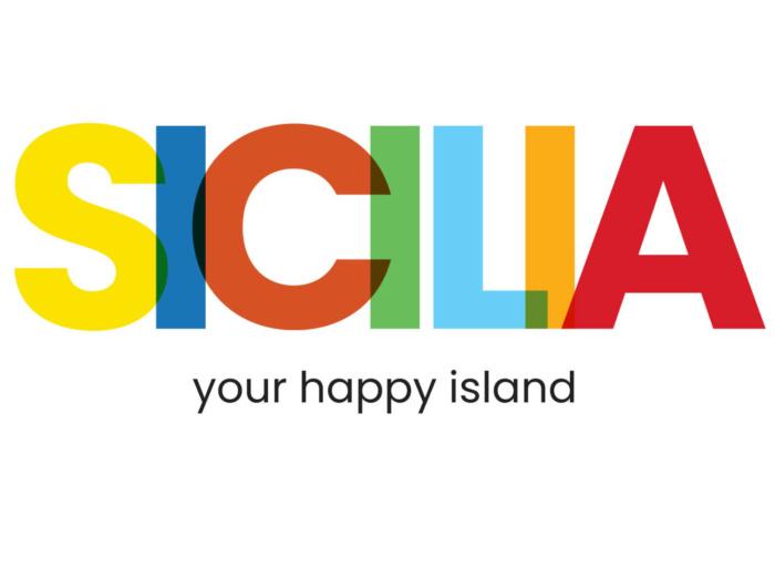 """Sicilia Logo """"your happy island"""", Bildquelle: Assessorato Turismo Regione Siciliana"""