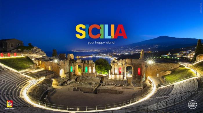 """Sicilia """"your happy island"""", Bildquelle: Assessorato Turismo Regione Siciliana"""