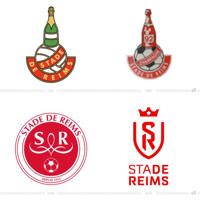 Stade de Reims Logo-Evolution