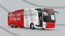 Stade de Reims Team Bus, Quelle: Leroy Tremblot