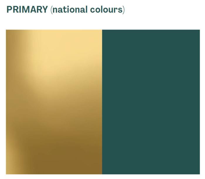 Australia Nation Brand Colors, Quelle: Austrade
