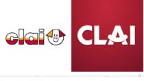 CLAI Logo – vorher und nachher, Bildquelle: CLAI, Bildmontage: dt
