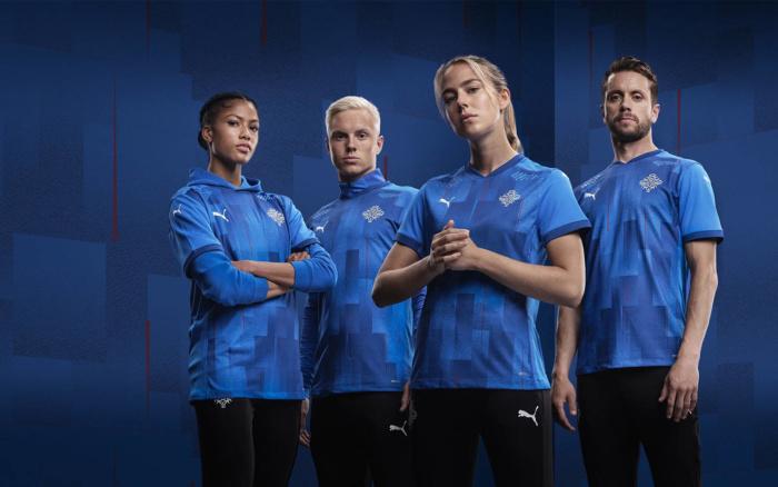 Isländische Fußballnationalmannschaft Branding, Quelle: KSI