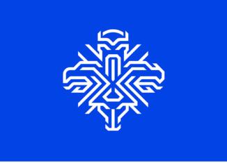 Isländische Fußballnationalmannschaft Logo, Quelle: KSI