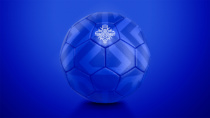Isländische Fußballnationalmannschaft Branding Ball, Quelle: KSI