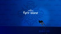 Isländische Fußballnationalmannschaft Branding Pressebereich, Quelle: KSI