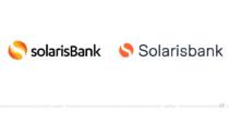 Solarisbank Logo – vorher und nachher, Bildquelle: Solarisbank, Bildmontage: dt